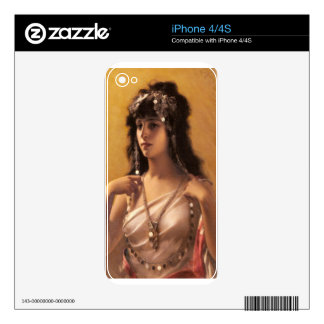 Falero's An Oriental Beauty Decal For iPhone 4