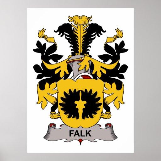 Falk Family Crest Poster