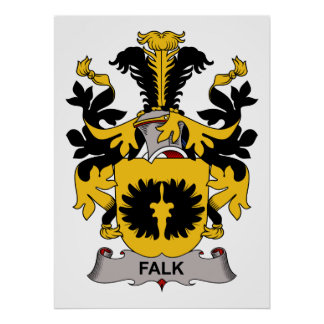 Falk Family Crest Print