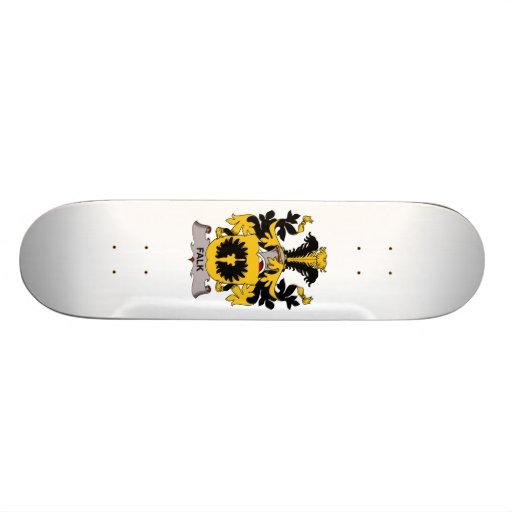 Falk Family Crest Skateboard