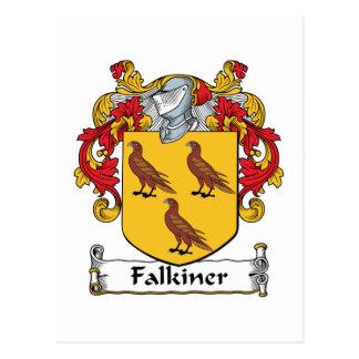 Falkiner Family Crest Postcard