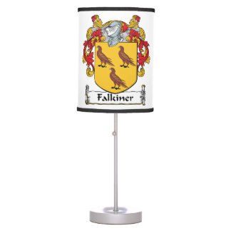 Falkiner Family Crest Table Lamps