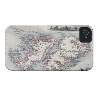 Falkland Islands and Patagonia, from a Series of W iPhone 4 Covers