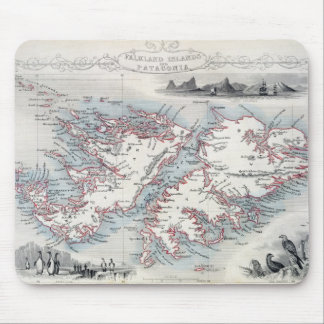 Falkland Islands and Patagonia, from a Series of W Mouse Pad