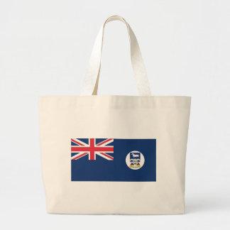 Falkland Islands Flag Large Tote Bag
