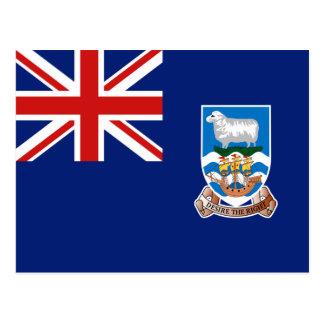 Falkland Islands Flag Postcard