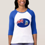Falkland Islands Gnarly Flag T-Shirt