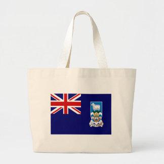 Falkland Islands Large Tote Bag