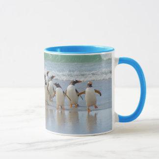 Falkland Islands. Saunders Island. Gentoo 5 Mug