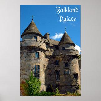 Falkland Palace in Fife, Scotland Print