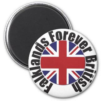 Falkland's Forever British 2 Inch Round Magnet