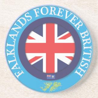 Falklands Forever British Drink Coaster