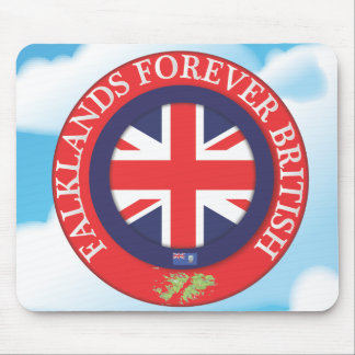 Falklands Forever British Mouse Pad