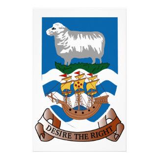 Falklands Islands Coat of Arms Custom Stationery