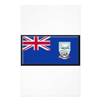 Falklands Islands Flag Custom Stationery
