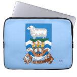 Falklands Sheep Ship Flag Neoprene Laptop Sleeve