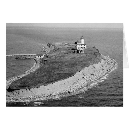 Falkner Island Lighthouse Greeting Card