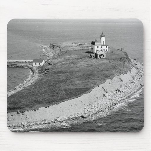 Falkner Island Lighthouse Mouse Pad