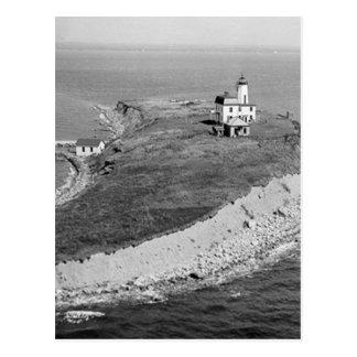 Falkner Island Lighthouse Postcard