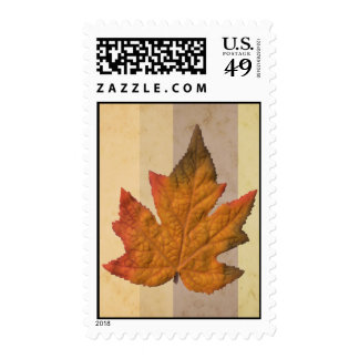 Fall -1 postage stamp