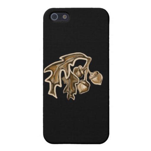 Fall Acorns iPhone 5 Case
