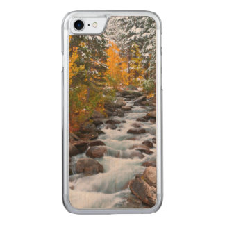 Fall along Bishop creek, California Carved iPhone 7 Case