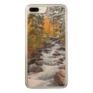 Fall along Bishop creek, California Carved iPhone 7 Plus Case