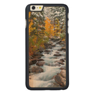 Fall along Bishop creek, California Carved® Maple iPhone 6 Plus Slim Case