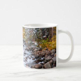 Fall along Bishop creek, California Coffee Mug