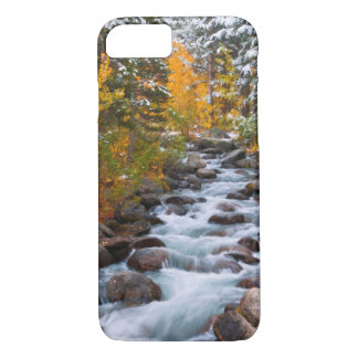 Fall along Bishop creek, California iPhone 7 Case