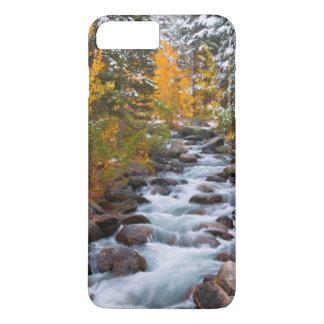 Fall along Bishop creek, California iPhone 7 Plus Case