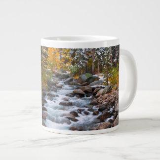 Fall along Bishop creek, California Large Coffee Mug