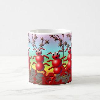 fall ants coffee mug