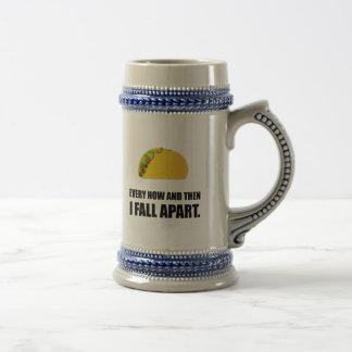 Fall Apart Taco Beer Stein