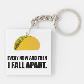 Fall Apart Taco Keychain