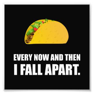Fall Apart Taco Photo Print