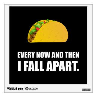 Fall Apart Taco Wall Decal