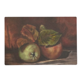 Fall Apples Placemats for a festive table