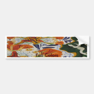 Fall Approaches Bumper Sticker