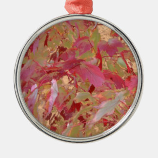 Fall Arrives Red Tom Wurl  .jpg Metal Ornament