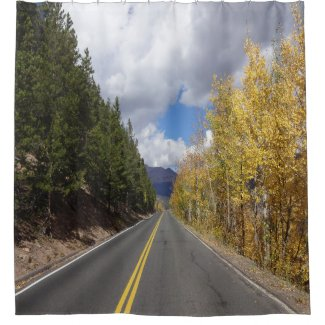 Fall Aspens Shower curtian Shower Curtain