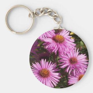 Fall Aster Keychain