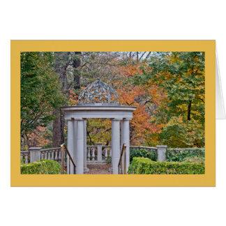 Fall at Atlanta Botanical Garden Card