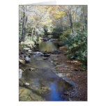 Fall at Fires Creek Stationery Note Card