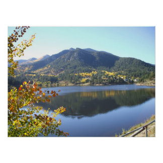 Fall at San Isabel Lake Poster