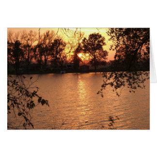Fall at Squaw Creek Card
