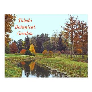 """FALL AT TOLEDO BOTANICAL GARDEN"" POSTCARD"