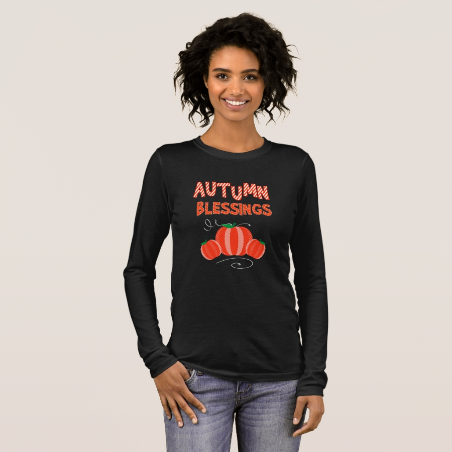 Fall & Autumn Gifts For Women Rustic Style Long Sleeve T-Shirt - Best Selling Long-Sleeve Street Fashion Shirt Designs