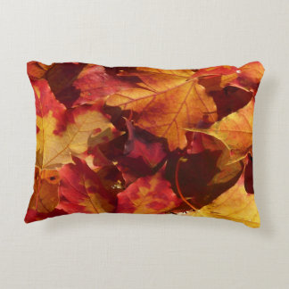 Fall Autumn Leaves Accent Pillow