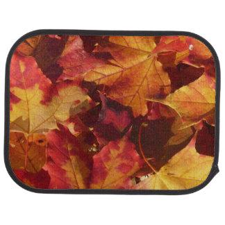 Fall Autumn Leaves Car Mat